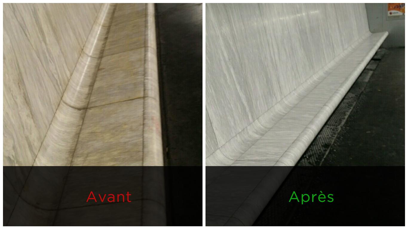 Un nouveau procédé de nettoyage pour le marbre et le granit