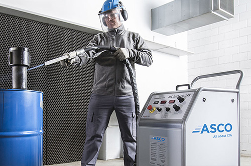 Nettoyage pro par cryogénie