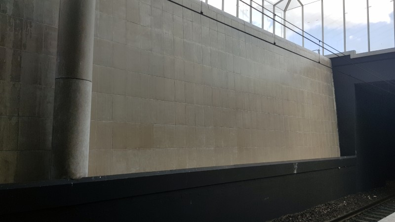 Nettoyage facade en Marbre