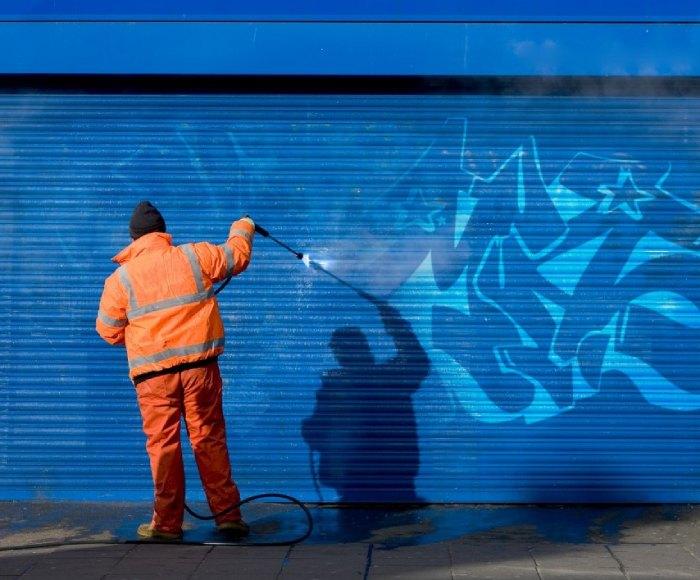 Nettoyage des graffitis et Tag